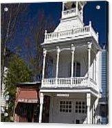 Historic Firehouse No. 1 Nevada City California Acrylic Print