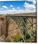 Historic Highway Bridge Acrylic Print
