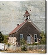 Historic Hinerville School  House  Acrylic Print