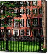 Historic Homes Of Beacon Hill, Boston Acrylic Print