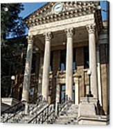 Historic Limestone County Courthouse In Athens Alabama Acrylic Print