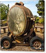 Historic Military Spotlight - Fort Stevens - Oregon Acrylic Print