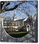 Historic Nantucket Church Acrylic Print