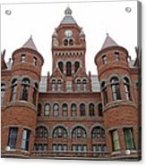 Historic Old Red Courthouse Dallas #1 Acrylic Print