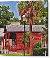 Historic Pensacola With Added Color Acrylic Print