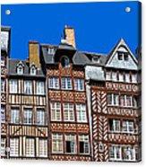 Historic Rennes Acrylic Print by Jane Rix