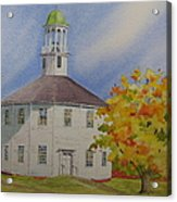 Historic Richmond Round Church Acrylic Print