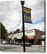 Historic Saratoga Village Acrylic Print