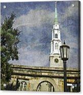 Historic Savannah Church Acrylic Print