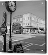 Historic Small Town In South Where Acrylic Print