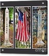 Historic State Line Acrylic Print