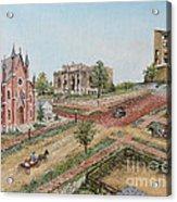 Historic Street - Lawrence Ks Acrylic Print