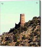 Historic Tower Of Grand Canyon Acrylic Print