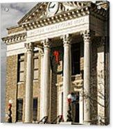 Historical Athens Alabama Courthouse Christmas Acrylic Print