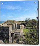 Historical Fort Wool Virginia Landmark Acrylic Print