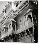 The History Of Rajasthan Acrylic Print