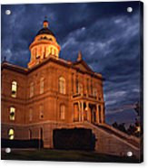 Historical Placer County Courthouse Acrylic Print