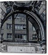 Historical Window Detail Acrylic Print
