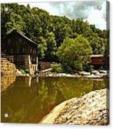 History Along Slippery Rock Creek Acrylic Print