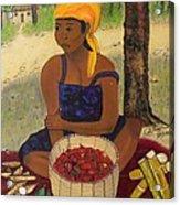 History Behind Caribbean Food Produces Acrylic Print