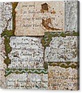 History Of Hill Ward Asylum Acrylic Print
