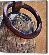 Hitching Post #1 Acrylic Print