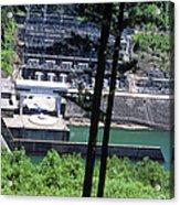 Hiwassee Dam 2 Acrylic Print