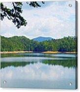 Hiwassee Lake Acrylic Print