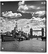 Hms Belfast London Acrylic Print