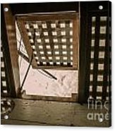 Hms Bounty Hatchway Below Deck Acrylic Print