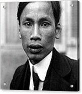 Ho Chi Minh In 1921 Acrylic Print