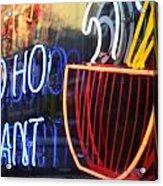 Ho Pants Acrylic Print