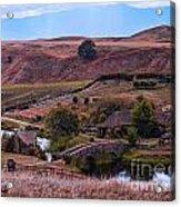 Hobbiton Overlook Acrylic Print
