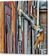 Hoboken After Sandy Acrylic Print