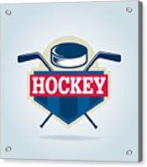 Hockey Logo,sport Acrylic Print