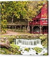 Hodgson Mill Acrylic Print by Steven Bateson