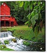 Hodgson Water Mill Acrylic Print