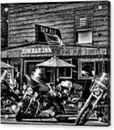 Hogs At The Tow Bar Inn - Old Forge New York Acrylic Print