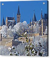 Hohenzollern Castle Germany Acrylic Print