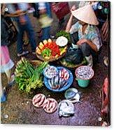 Hoi An Market Acrylic Print