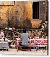 Hoi An Noodle Stall 03 Acrylic Print