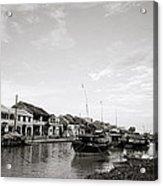 Hoi An Riverfront Acrylic Print