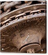 Hoist Wheel Acrylic Print