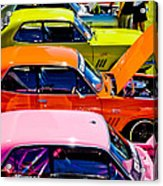 Holden Colors Acrylic Print by Phil 'motography' Clark