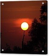 Holding Up The Sun Acrylic Print