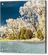 Hole In The Cloud Acrylic Print