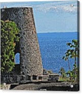 Hole In The Tower Acrylic Print