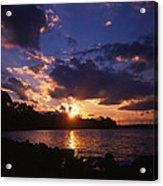 Holga Sunset Acrylic Print