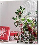 Holiday Birdcage Acrylic Print