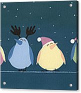 Holiday Birds Acrylic Print
